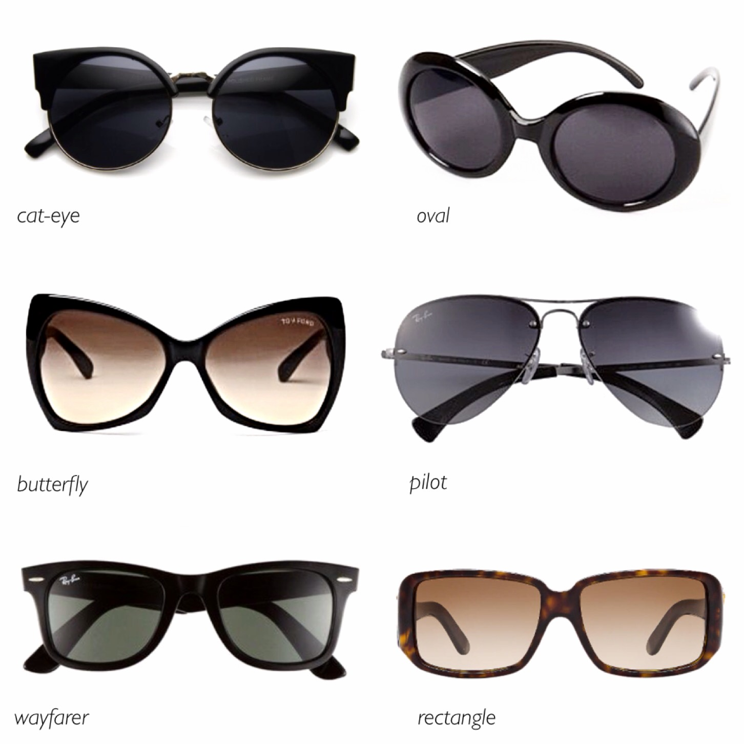 Find the perfect sunglasses for your face shape – Everyday ...