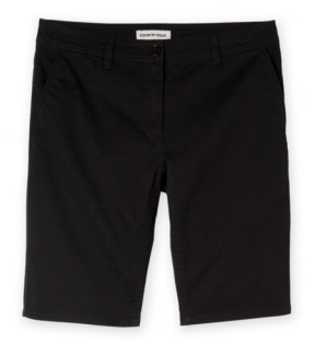Black chino shorts (Woolworths)