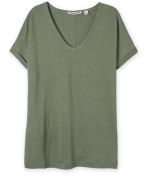 Olive green t shirt (Woolworths)