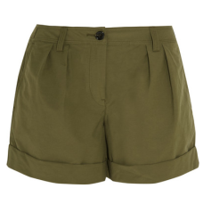 Net-a-Porter - Burberry army green shorts