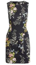 Net-a-Porter - Topshop Unique floral shift dress