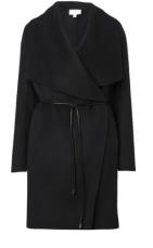 Witchery - Black tie wrap coat