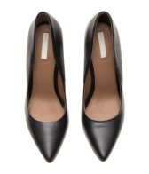 H&M: Black court shoes