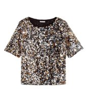 sequinced blouse