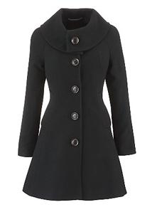 Swing Coat black