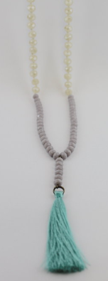 Lacey Luck - Tassel necklace