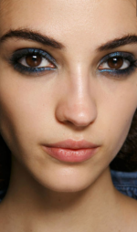 Harpers bazaar - Blue eye olive skin